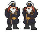 Space Battleship Yamato - Captain Okita