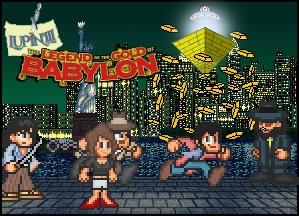 Legend of the Gold of Babylon Title Card by penguintruth
