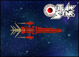 Outlaw Star Title Card