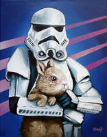 Stormtrooper with Bunny by TrampLamps