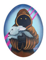 Jawa with Grey Bunny by TrampLamps