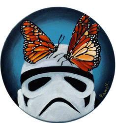 Stormtrooper Butterflies Series 2/9 by TrampLamps
