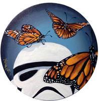 Stormtrooper Butterflies Series 3/9 by TrampLamps