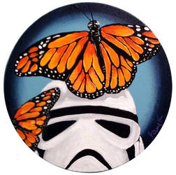 Stormtrooper Butterflies Series 4/9 by TrampLamps