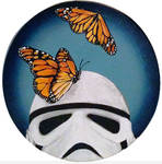Stormtrooper Butterflies Series 6/9 by TrampLamps