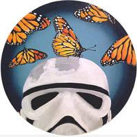 Stormtrooper Butterflies Series 7/9 by TrampLamps