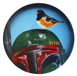 Boba Fett with Rufus Sided Towhee