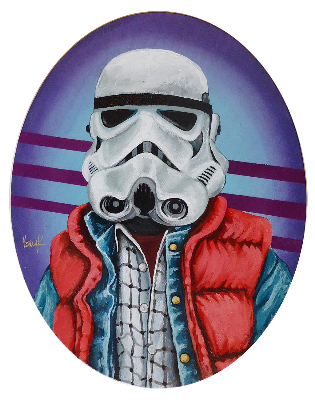 Marty McFly Stormtrooper by TrampLamps