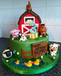 Farm Yard Cake by clvmoore