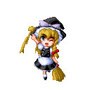 Yo ! -w-' Touhou_marisa_GIF_by_SukebanMochi