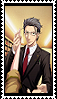 Rintaro Scene 5 Stamp by FrameofReality