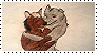 Morgan/Caine Stamp by frameofreality
