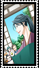 Hisame Happy End Stamp by FrameofReality
