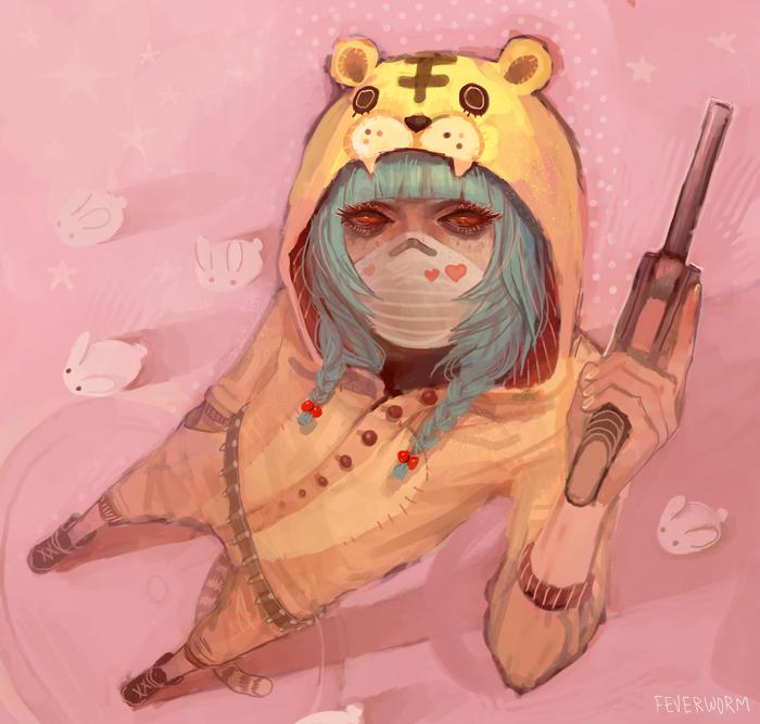 bun gun by Chaotic-Muffin