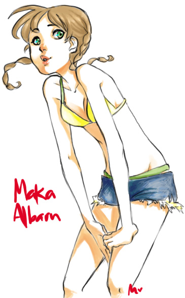 Maka Albarn by tackyturtles