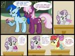 Pony Comic: Origami Day