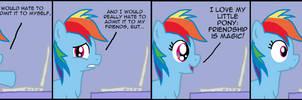 Rainbow Dash Realizes