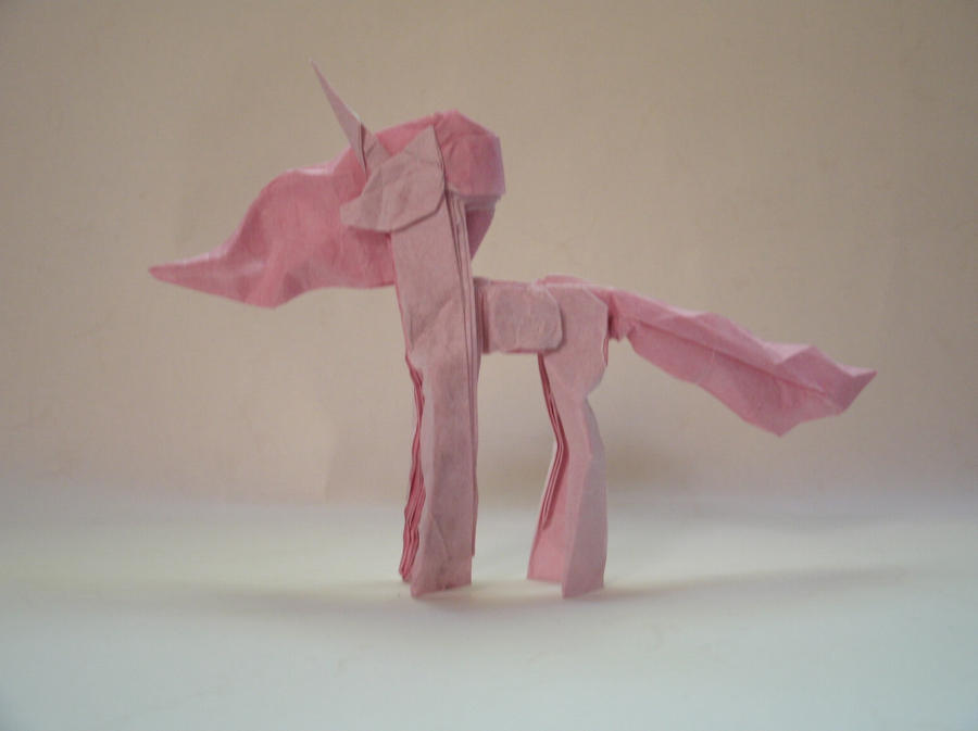 Origami Princess Celestia by Cyberglass