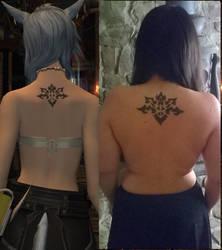 IRL Legacy Tattoo by ShirakiYuki