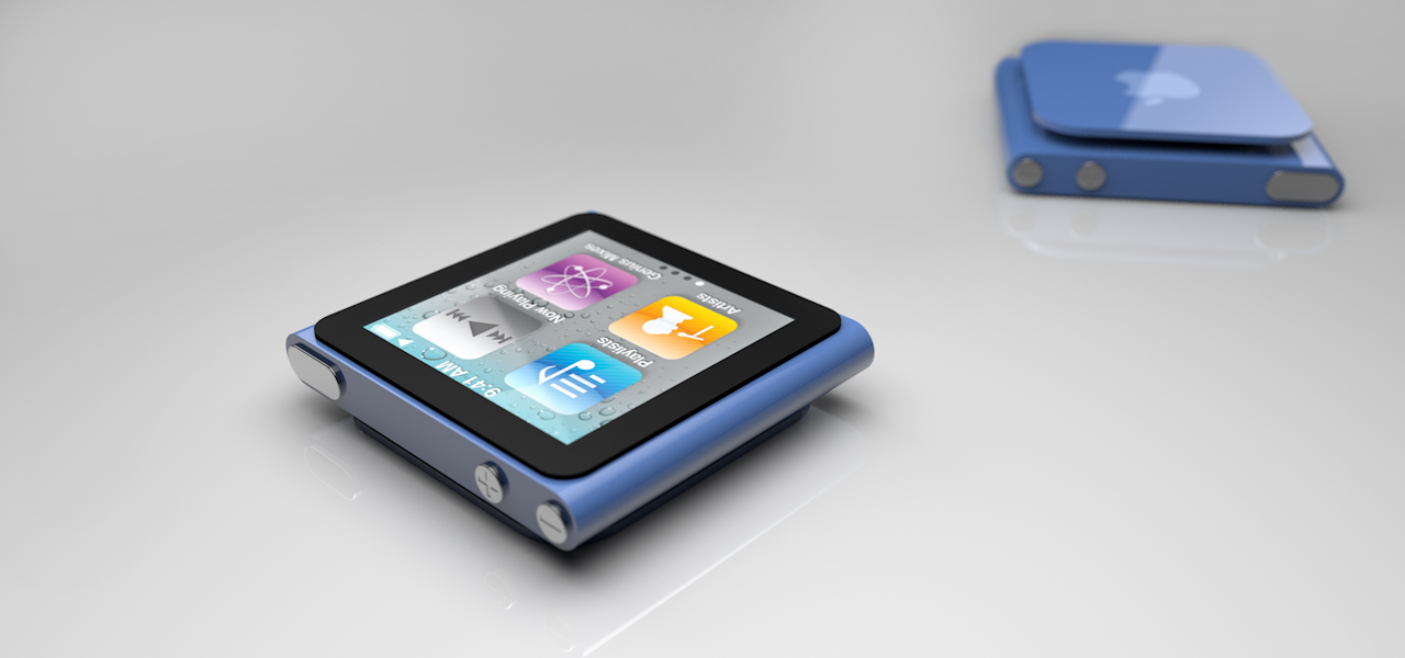 Ipod nano touch by The3DLeopard