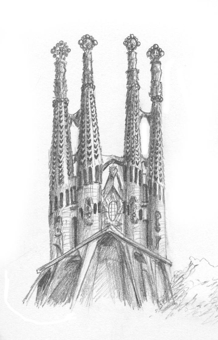 Sagrada Familia by ~ms