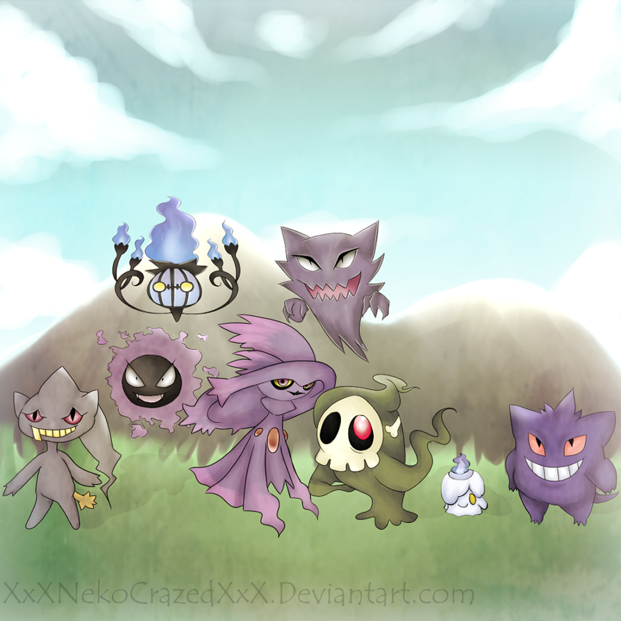 Ghost Pokemon Names Images | Pokemon Images
