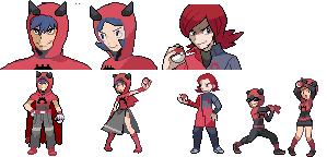 Lance Pokemon Sprite