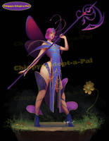 Butterfly Girl_Adopt (open) by Chippys-Adopt-a-Pal