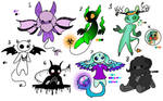 Small Demons Adopts (3/8 OPEN)