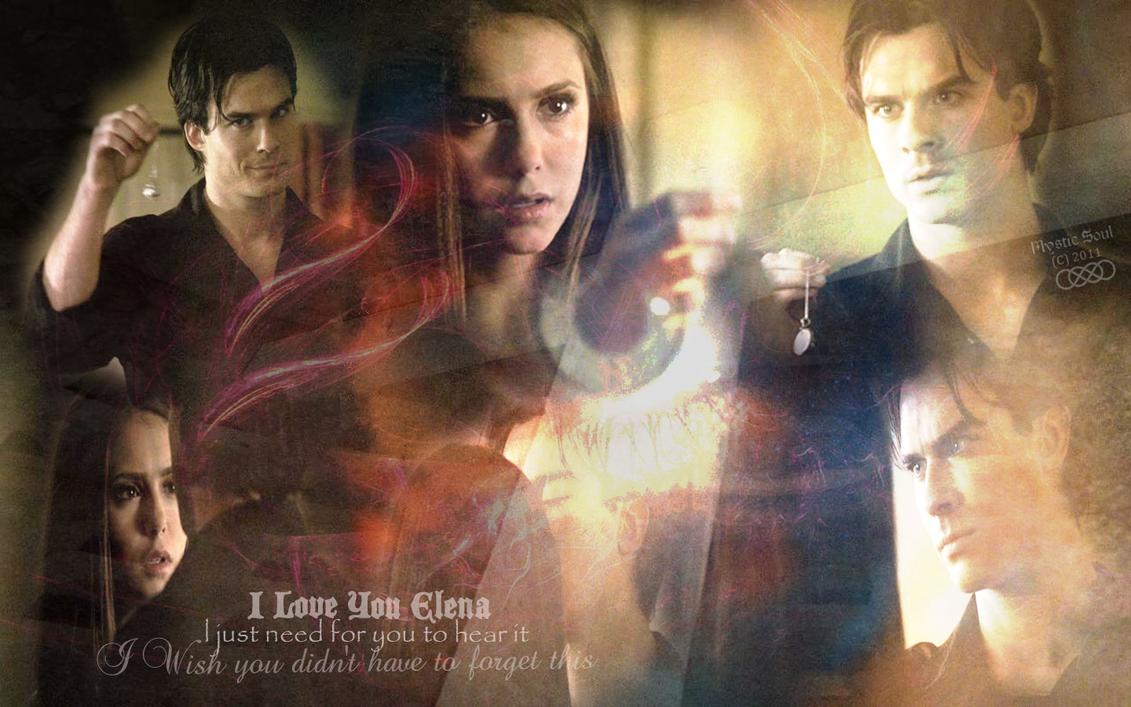 Damon and Elena TVD Wa...