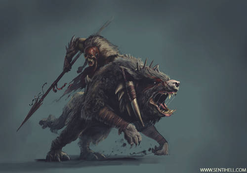 ORC WOLFRIDER