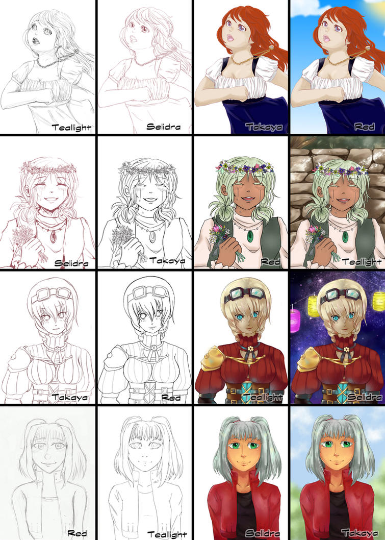 Switch around meme - Team2 by Takaya-chan