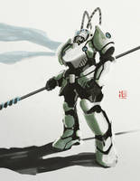 Peking Warrior : Yide III by hyxhoratio