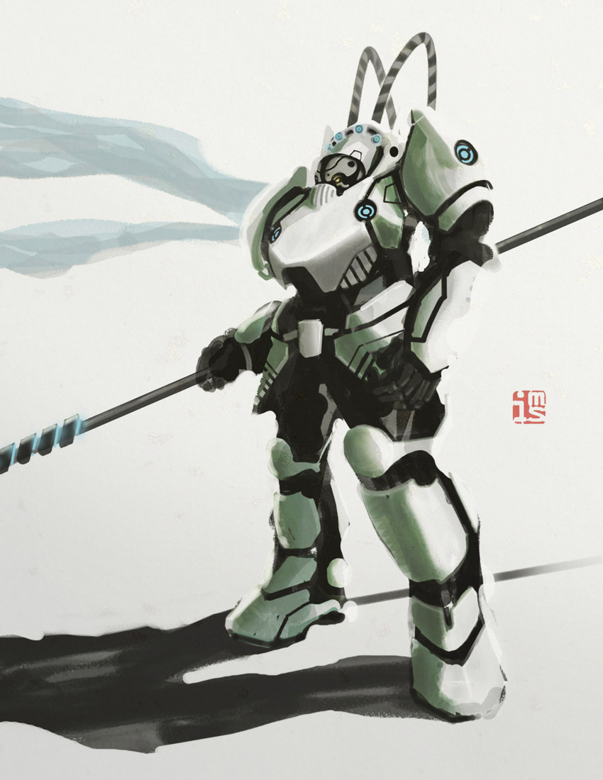 Peking Warrior : Yide III by hyxhoratio