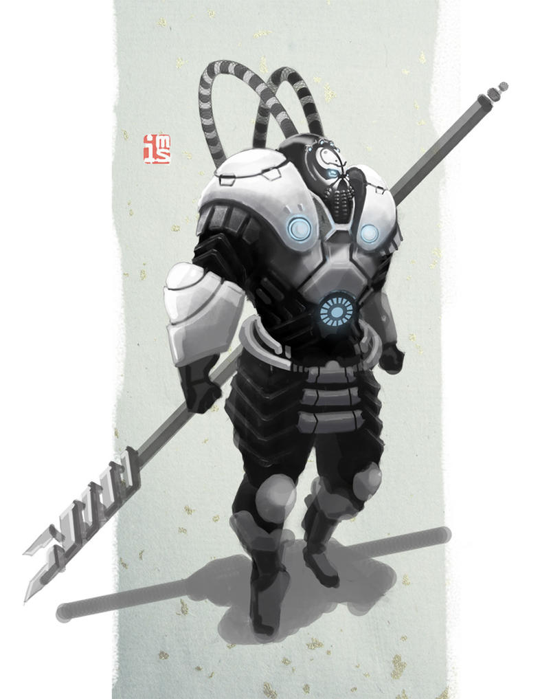 Peking Warrior : Yide IV by hyxhoratio
