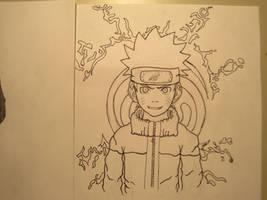 Naruto Uzumaki - Lineart by MangaBlock8
