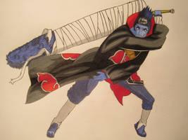 Kisame Hoshigaki - Colored by MangaBlock8