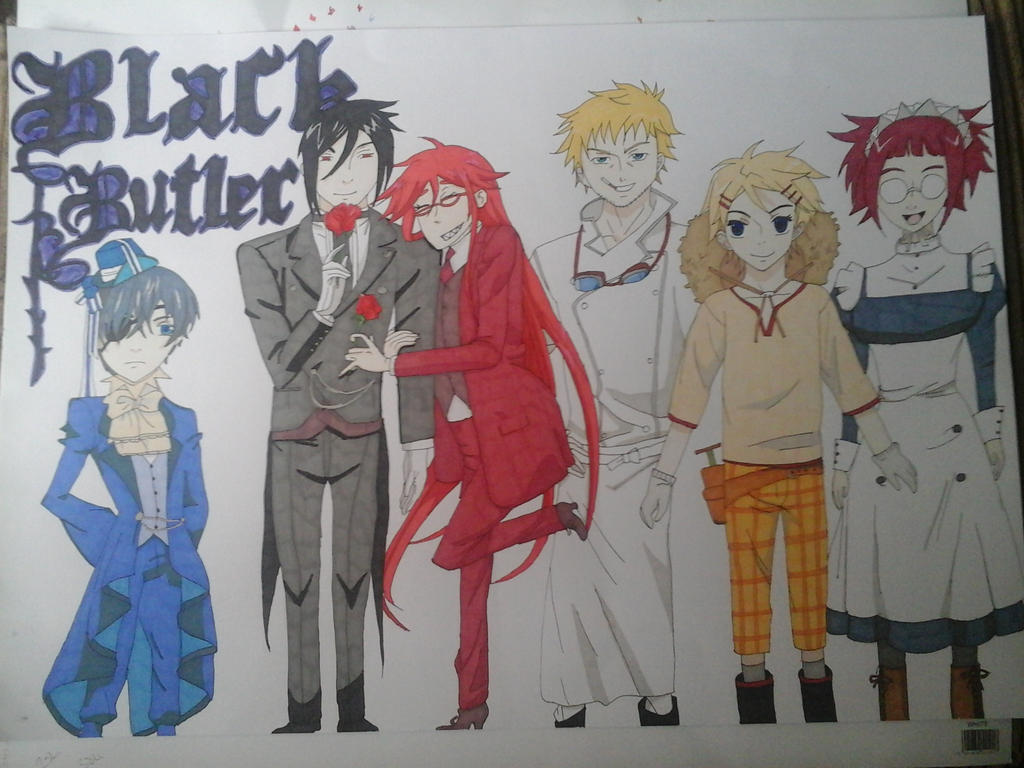 Black butler by shaddowwarrior