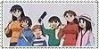 Azumanga Daioh Stamp by KarToon12