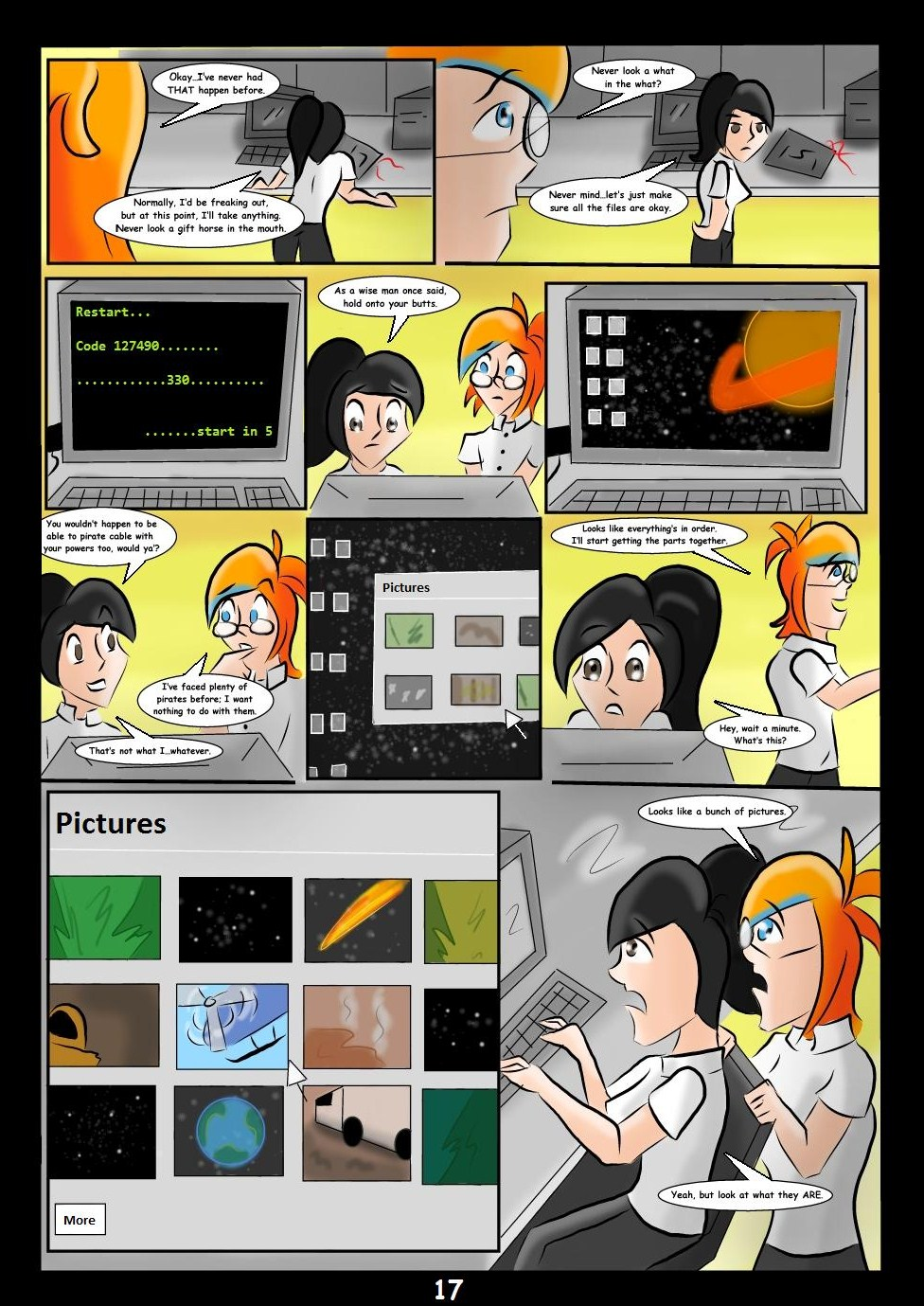 Jamie Jupiter Season1 Episode3 Page17 by KarToon12