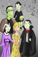 The Munsters by KarToon12