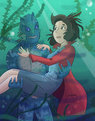 The Shape of Water by KarToon12