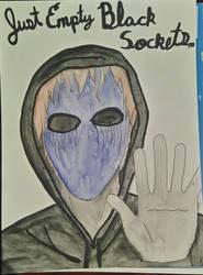 Eyeless Jack, Empty Black Sockets by Musiclover1001