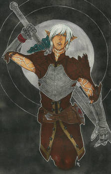 Dragon Age II - Fenris - Commission