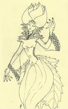 Rosebud Lady WIP