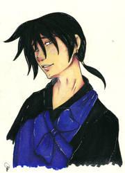 Miroku Bust - Colored