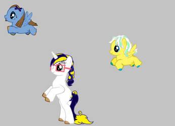 Goldflower's Future Children by Binkpls