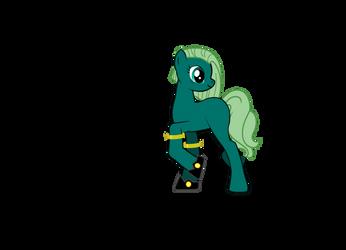 Binkpls' sis as a pony by Binkpls