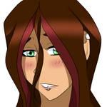 Random girl face 2021 by WillowValens