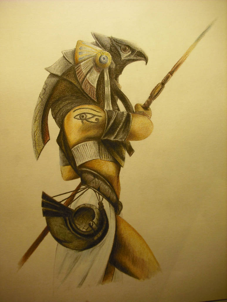 Horus, dios egipcio